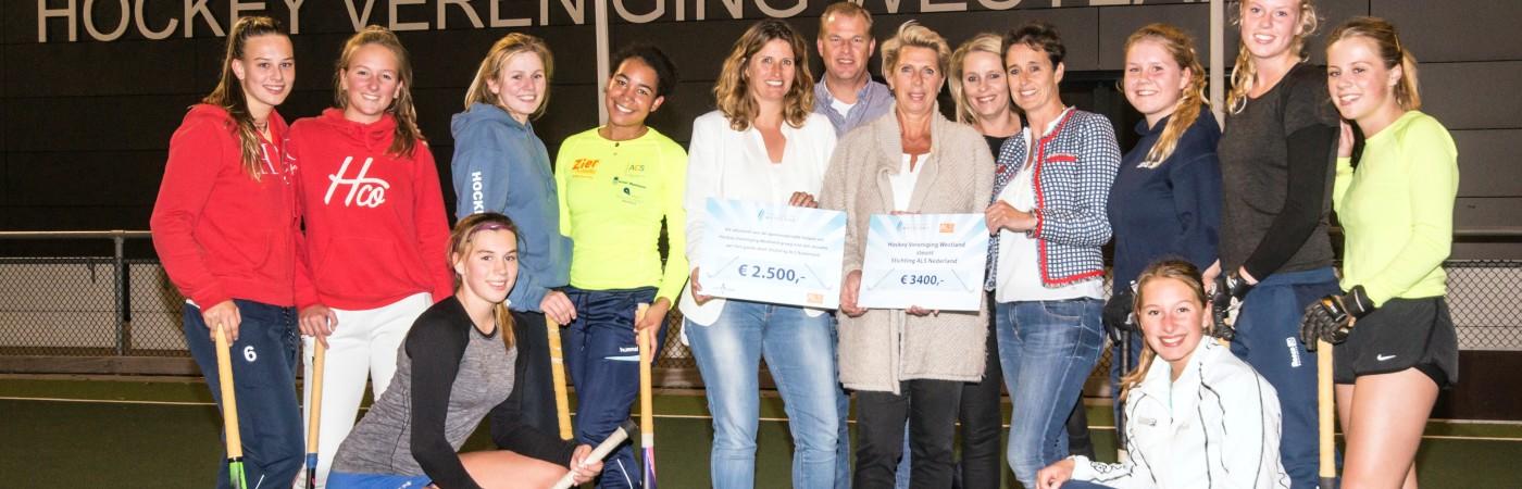 Marlene Doorneveld (HVW) en Irene Bui (SWK-groep) met de Dida