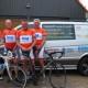 Team Corrie (vlnr): Dik Lievaart, Wim Boekestijn, Mark Vellekoop, Charles Slaghuis